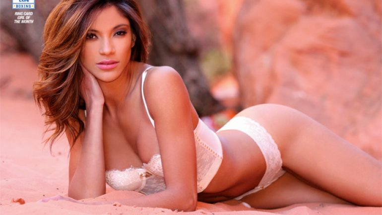 Corona Extra ring card girl of the month: Carla Daniela