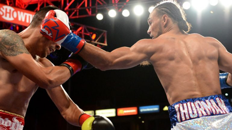 Photo gallery: Keith Thurman vs. Julio Diaz