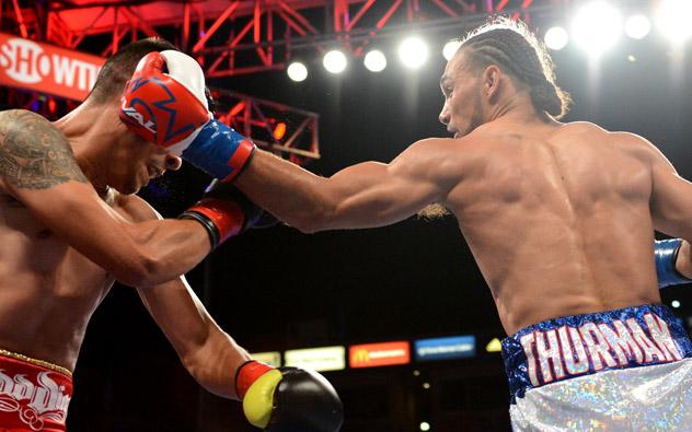 Keith Thurman vs Julio Diaz fukuda