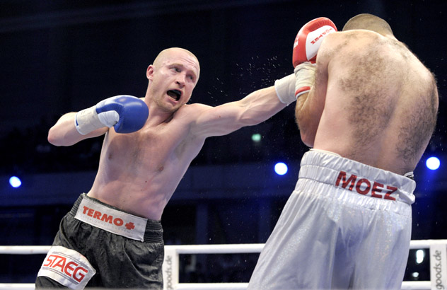 Lukas Konecny v Moez Fhima - WBO Middleweight European Championship