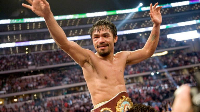 Win or lose, Manny Pacquiao's legacy is secure