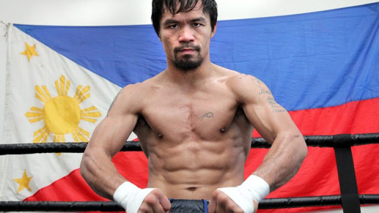 Photo gallery: Manny Pacquiao's final day of training