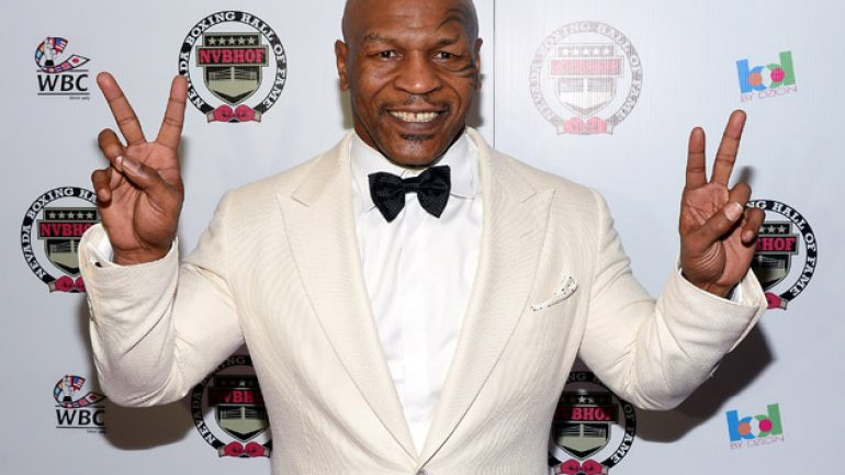 Mike Tyson offers reward for stolen championship belts