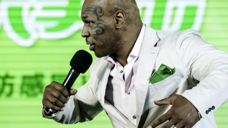 Mike Tyson's one-man show rolls on