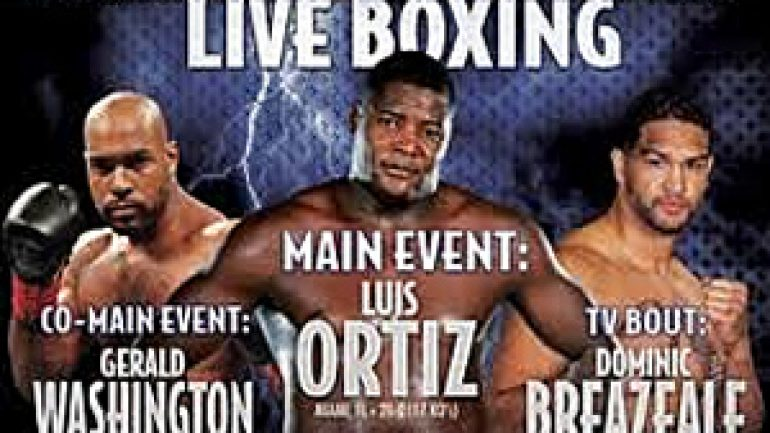 Luiz Ortiz dominates Monte Barrett in Golden Boy Live! main event
