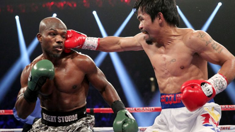 Manny Pacquiao didn't get a KO but he got revenge in Bradley rematch