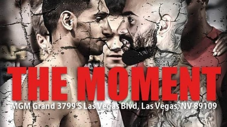 Showtime Sports to stream 'The Moment' undercard press conference