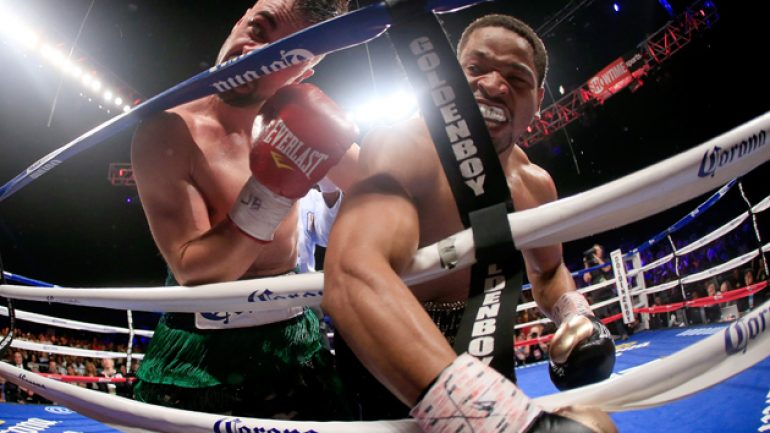 Shawn Porter overwhelms Paulie Malignaggi to fourth round KO
