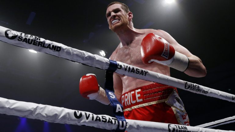 David Price survives early scare, stops Ondrej Pala in three