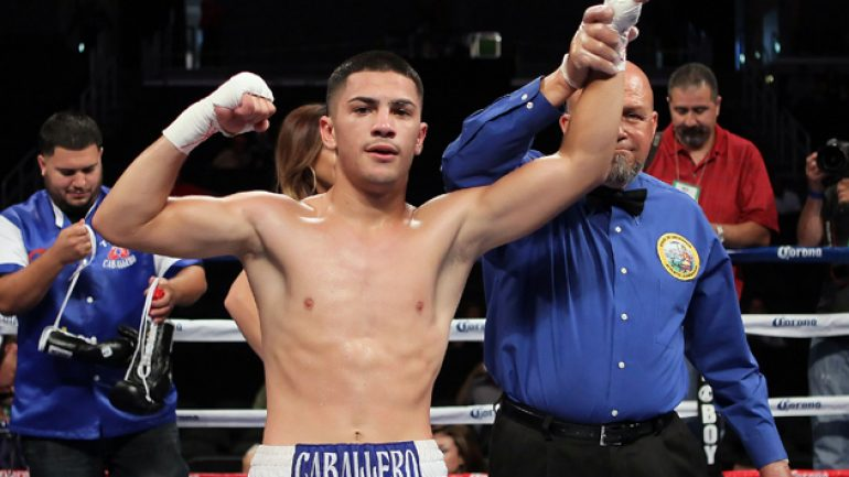 Randy Caballero outpoints Stuart Hall, wins IBF bantamweight title