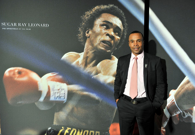 Ray-Leonard-at-SI-sportsman-of-the-year2011-stephen-lovekin-getty