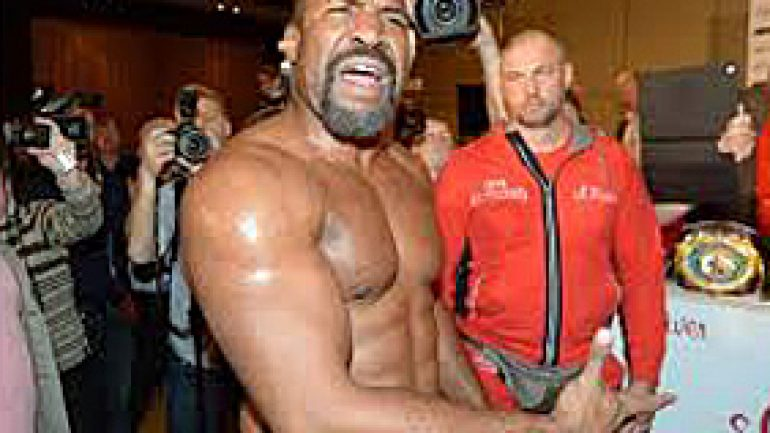 Lem's latest: Briggs storms Klitschko's training camp