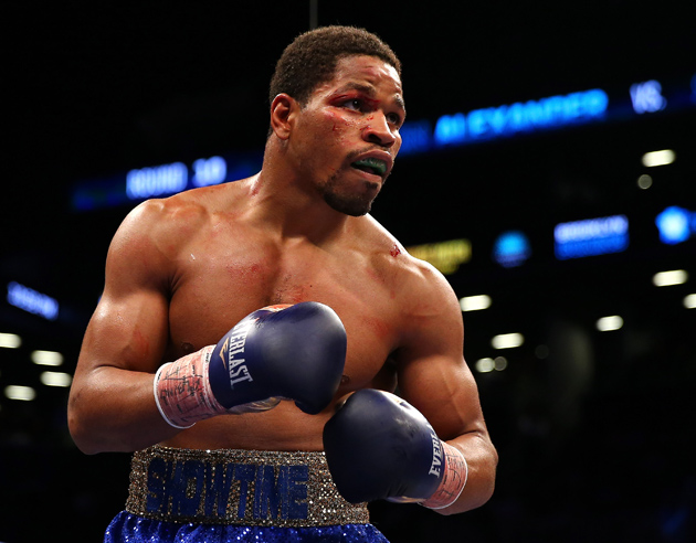 Shawn Porter in action during his IBF welterweight title fight against Devon Alexander at Barclays Center on Dec. 7, 2013, in Brooklyn N.Y. Photo by Elsa/Golden Boy via Getty Images