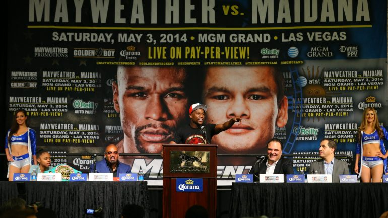 All Access: Floyd Mayweather Jr.-Marcos Maidana II airs Saturday