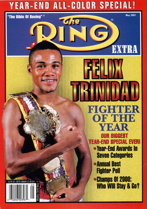 Ring Magazine Cover - Felix Trinidad