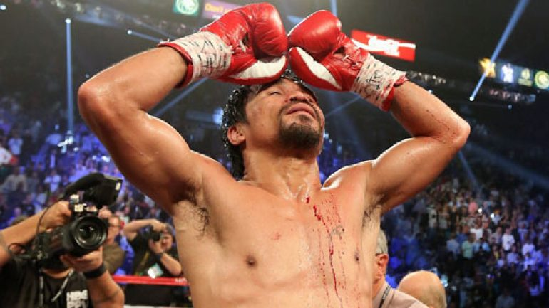 Manny Pacquiao gives us another gem: Weekend Review