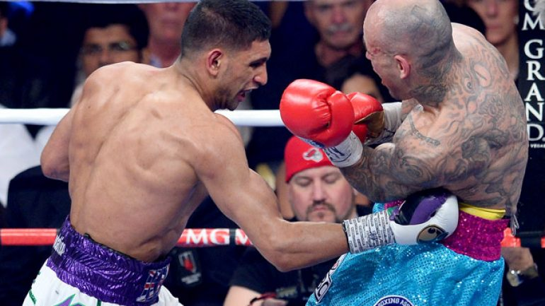 Amir Khan scores one-sided unanimous decision over Luis Collazo