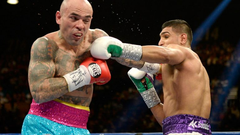 Lem's latest: Luis Collazo suffers hand injury versus Amir Khan