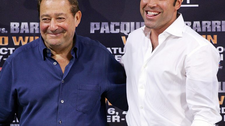 Bob Arum dismisses blame for Golden Boy break-up