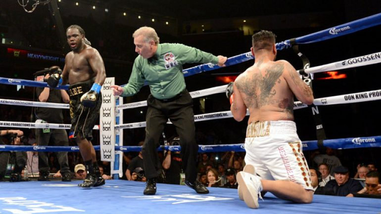 Ring Rankings Update: Chris Arreola drops in heavyweight rankings