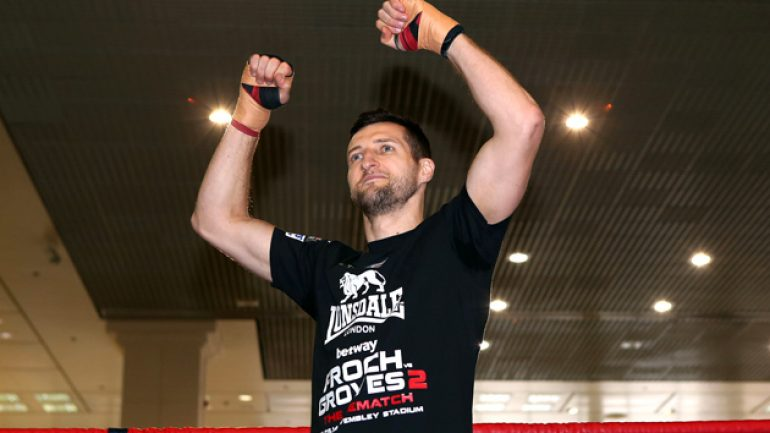 Carl Froch: Groves is a light heavyweight doing super middleweight