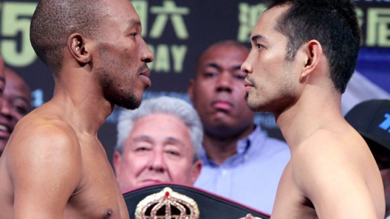 Photo gallery: Simpiwe Vetyeka-Nonito Donaire weigh-in