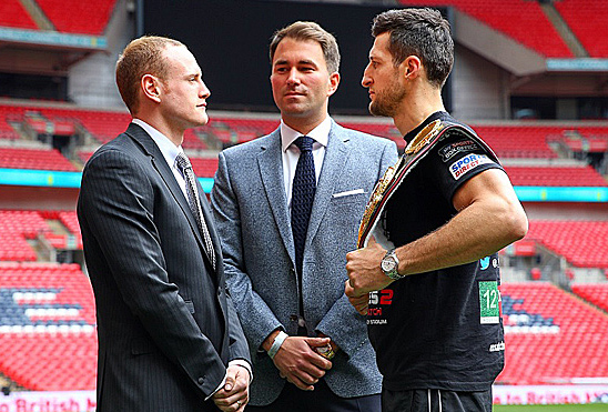 Froch-Groves-faceoff-Wemble