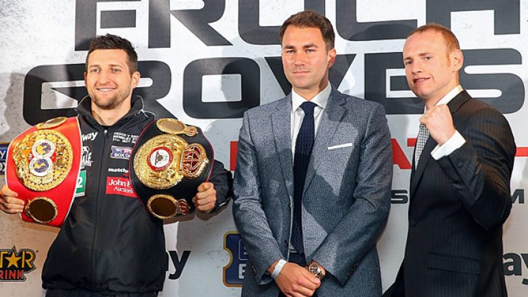 Froch and Groves in peaceful mood ahead of grudge rematch