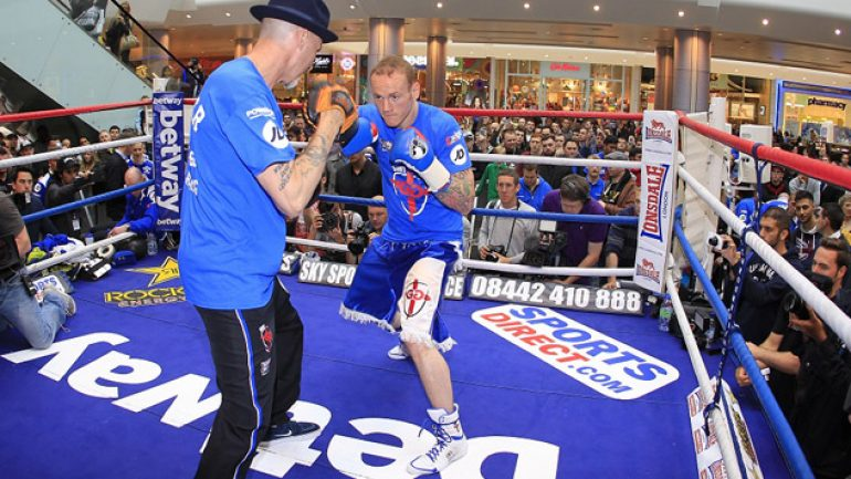 Lem's latest: George Groves returns on Sept. 20