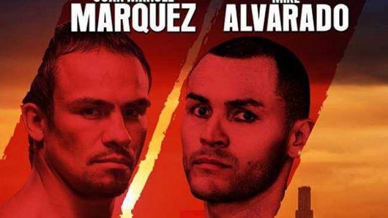 Who wins Juan Manuel Marquez-Mike Alvarado?