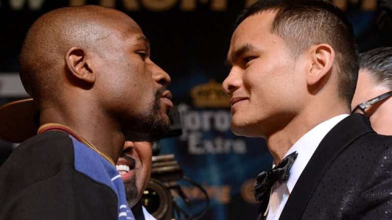 Showtime Sports to stream Mayweather-Maidana weigh-in