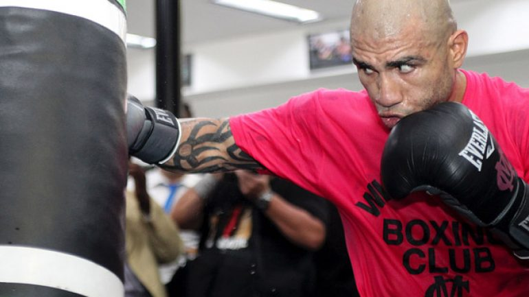 Photo gallery: Miguel Cotto media day workout