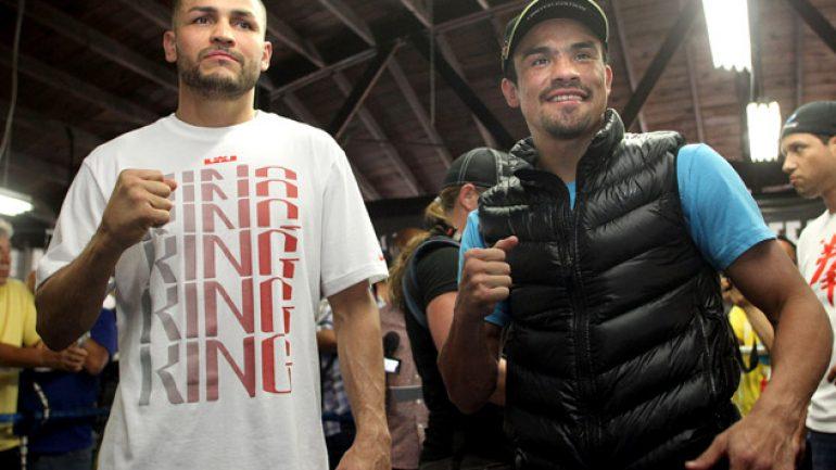 Photo gallery: Juan Manuel Marquez-Mike Alvarado media day