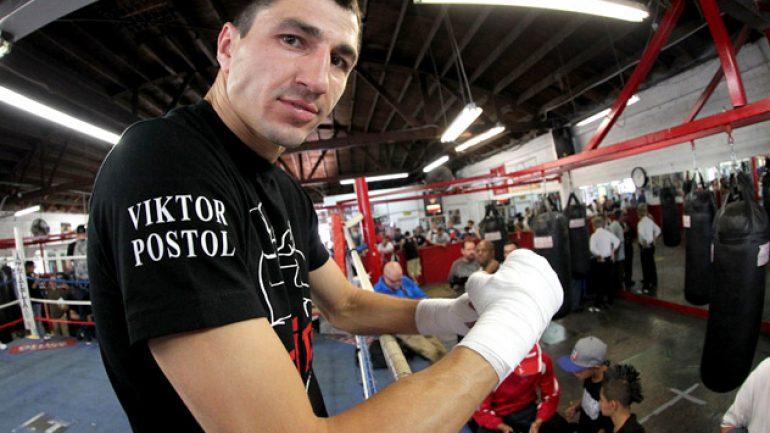 Manager: Viktor Postol eyes winner of Garcia-Peterson