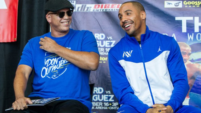 Virgil Hunter defends Andre Ward after CSAC decision