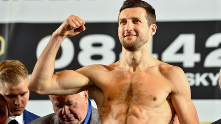 Ring Ratings Update: Froch, Beltran, Taylor exit rankings