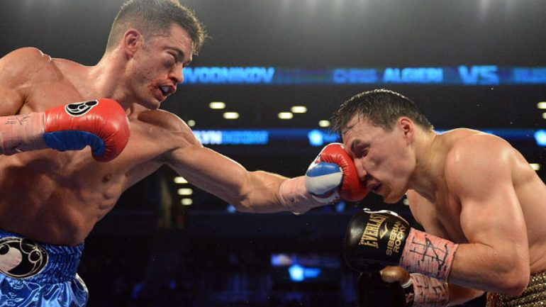 Chris Algieri scores shocking upset over Ruslan Provodnikov