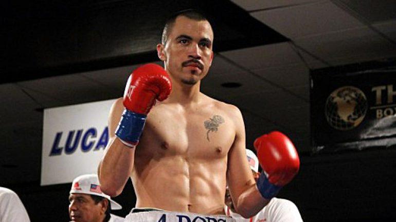 Artemio Reyes stops Christopher Degollado in seven