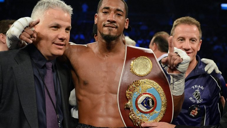 Demetrius Andrade: 'I want to fight Gennady Golovkin on pay-per-view'