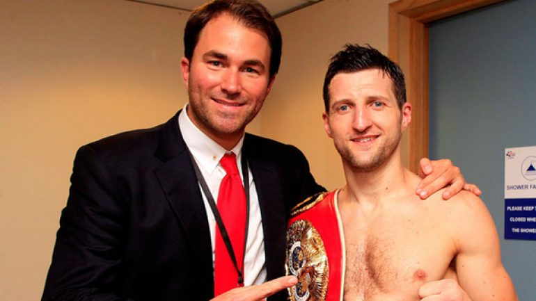 Matchroom and Sauerland agree to historic deal