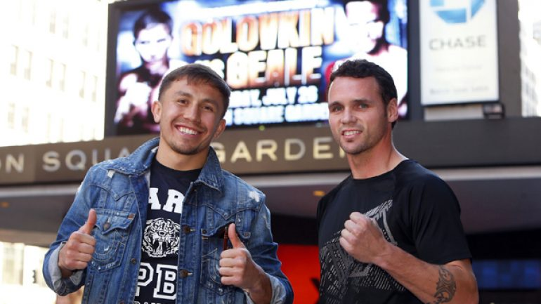 Lem's latest: Road to Gennady Golovkin/Daniel Geale airs Saturday