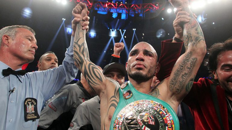 Miguel Cotto stops Sergio Martinez in finest performance of career
