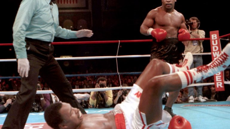 Lem's latest: Larry Holmes told Don King 'I can't beat Mike Tyson'