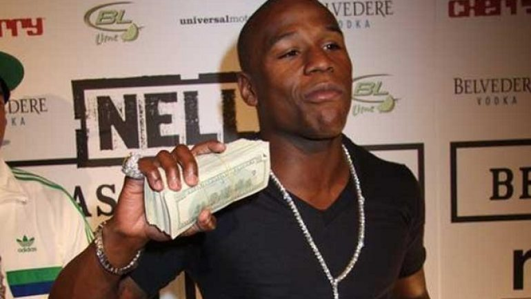 "Floyd Mayweather Jr. goes with ""Money"" over ""TBE"""