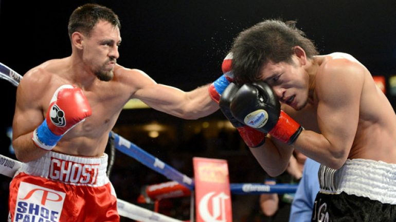 Photo gallery: Robert Guerrero vs. Yoshihiro Kamegai
