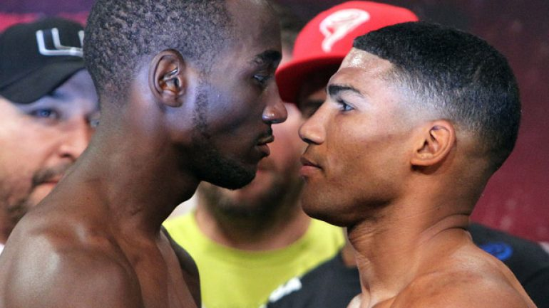 Photo gallery: Terence Crawford-Yuriorkis Gamboa weigh-in