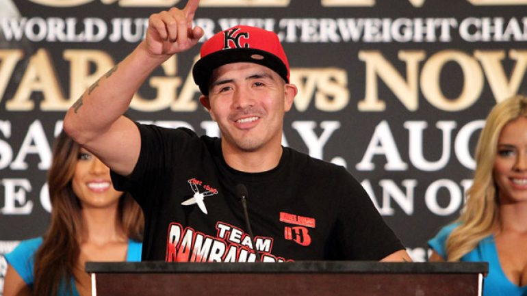 Brandon Rios looks to regain confidence against Diego Chaves