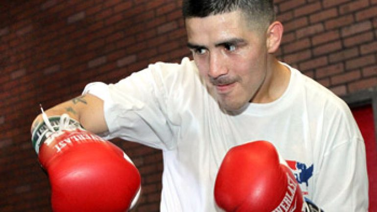Photo gallery: Brandon Rios media day workout