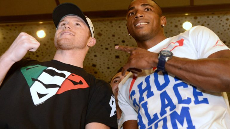 Photo gallery: Canelo Alvarez and Erislandy Lara arrive in Las Vegas