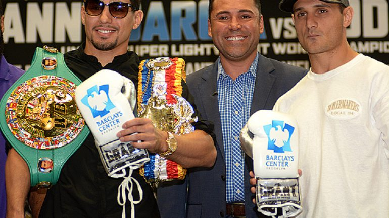 Showtime Sports to stream Garcia-Salka weigh-in
